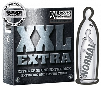 "MAXI KONDOMY  ""SECURA XXL EXTRA"" 24 KS  DSR 0414212"