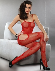 "BODYSTOCKING ""TITANIA RED""- BLC 0010"