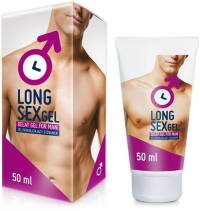 LONG SEX GEL - ODDALUJE EJAKULACI